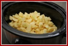 How to Make Applesauce in the Crockpot/Slow Cooker