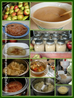 Pictures of Making Applesauce How to Make Applesauce at Home
