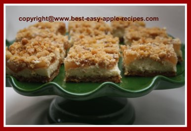 Apple Squares with Cream Cheese and Pie Filling