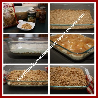 How to Make Apple Squares Bars