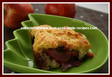 Sugar Free Apple Dessert Recipe Bumbleberry Cobbler