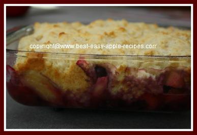 Mixed Fruit Cobbler Dessert Sugar Free Recipe