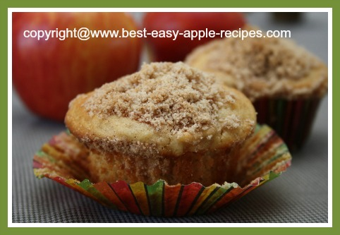 Apple Streusel Muffins Recipe