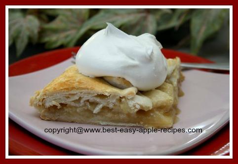 Open Face Apple Pie Recipe - Make An Easy Single Pastry Crust Pie