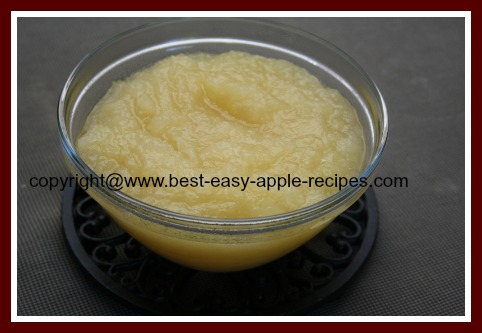 Chunky Applesauce Recipe