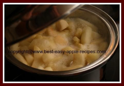 Making Applesauce