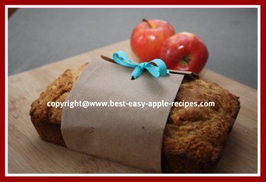 Apple Bread Picture Recipes for Apple Loaf