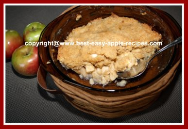 Apple Brown Betty Recipe
