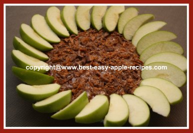 Best Apple Dip with Cream Cheese Skor and Caramel