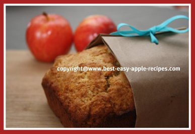 Homemade Apple Loaf with Nuts