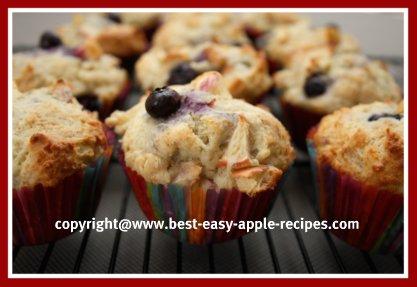 Blueberry Apple Muffin Recipe