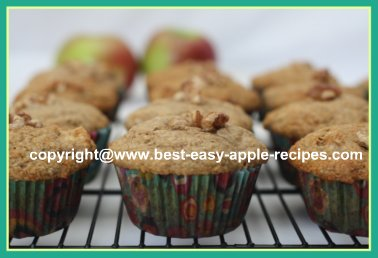 Recipe for Healthy Muffins with Apples