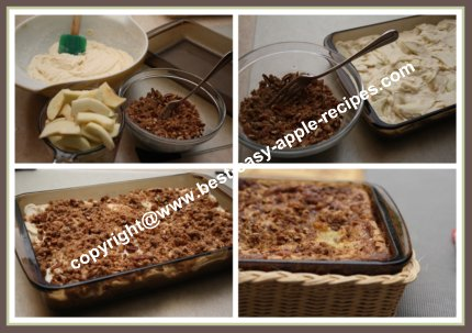 How to Make an Apple Streusel Cake