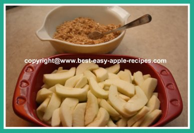 How To Make Apple Crumble #howtomakeapplecrumble #apples #bestapplerecipe