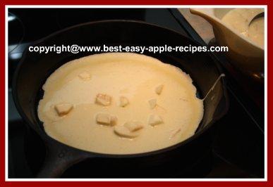 Making Dutch Apple Pancakes Recipe - Dutch Pancakes/Crepes