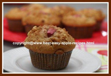 Rhubarb Apple Muffins Image