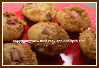 Recipe with Apples and Rhubarb Picture