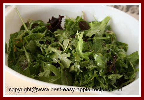 Spring Mixed Greens for Salad