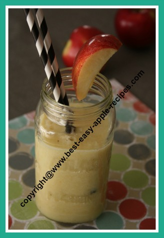 Apple Banana and Orange Smoothie