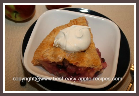 Apple Blueberry Pie