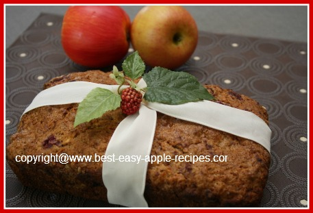 Delicious Raspberry Apple Bread to Make at Home