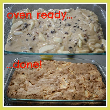 Make Apple Cake