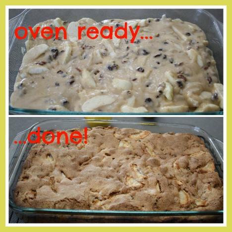 Make Apple Cake