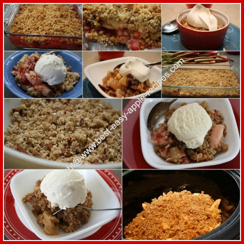 Apple Crumble Recipes
