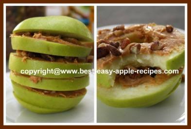 Apple Peanut Butter Snack for Kids
