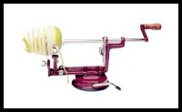 Picture of an Apple Corer and Peeler