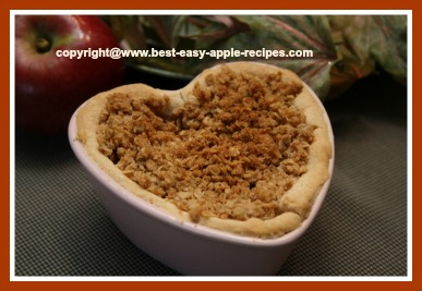 Apple Pie in Ramekin