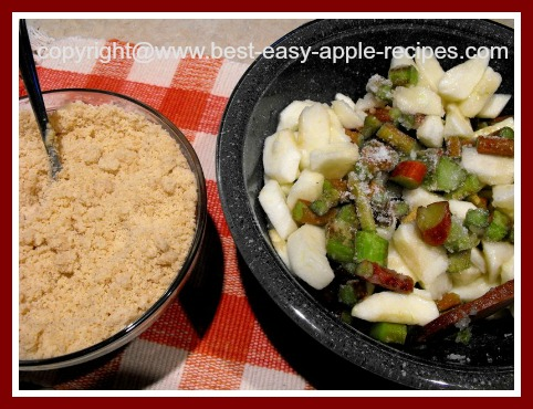 Apple Rhubarb Crisp Recipe Without Oatmeal
