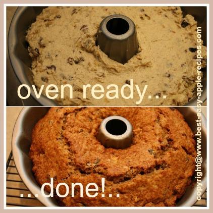 Recipe for Applesauce Cake Batter