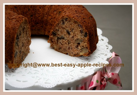 Healthy Applesauce Cake Recipe