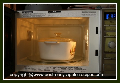 Applesauce In Microwave
