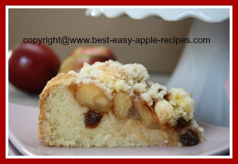 Apple Streusel Cake Recipe