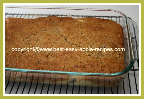 Baked Apple Rhubarb Cobbler Recipe