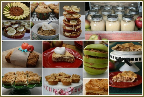 Collage of Best Easy Apple Recipes