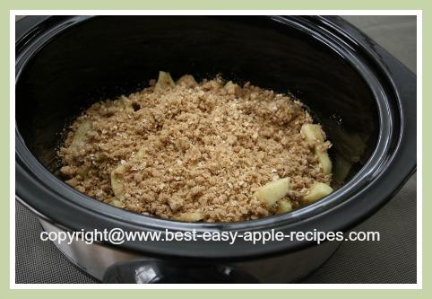 Crockpot Apple Crumble Recipes