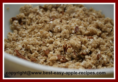 Crumble Topping Recipe for Crisp Dessert