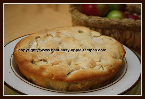 Easy Apple Cake with Yogurt