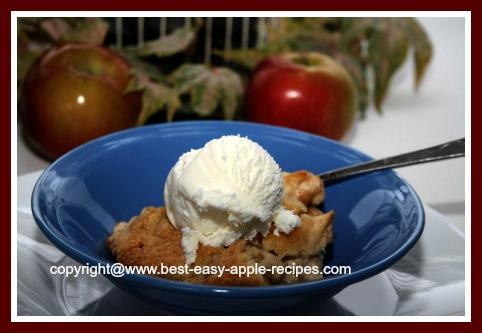 Easy Apple Cobbler Dessert to Make