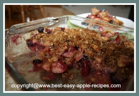 Easy Gluten Free Apple Dessert Recipe