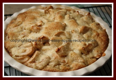 Easy Homemade Apple Cobbler
