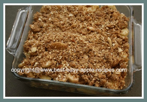 Gluten Free Diet Recipe for Apple Crumble