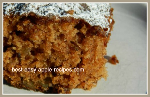 Gluten Free Apple Squares Recipe