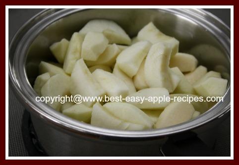 Homemade Applesauce Recipe