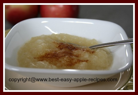 Best Applesauce and Cinnamon
