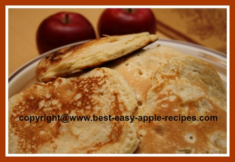 Homemade Pancakes with Apples Recipe