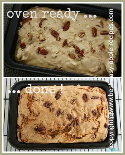 Homemade Rhubarb Apple Bread Recipe